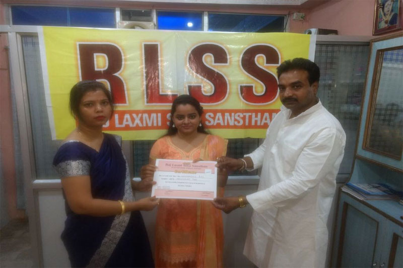 Beautician Traning certificate distribution